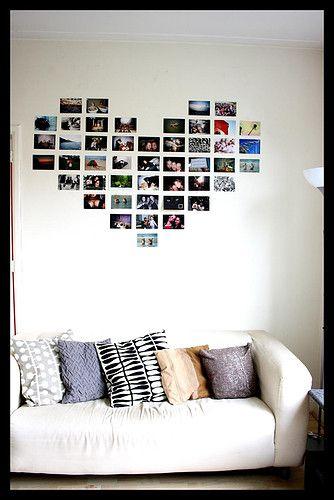 heart of photo frames