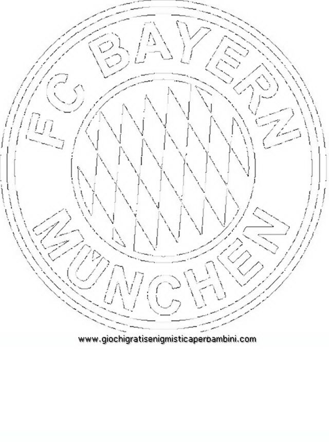 football badges bayern munchen teenagers coloring pages