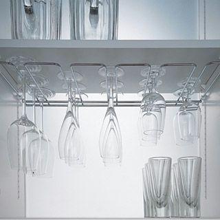 glazenrek  Keuken accessoires  Pinterest