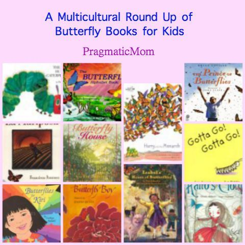 to accompany my butterfly garden exhibit a list of 10 butterfly themed books for kids