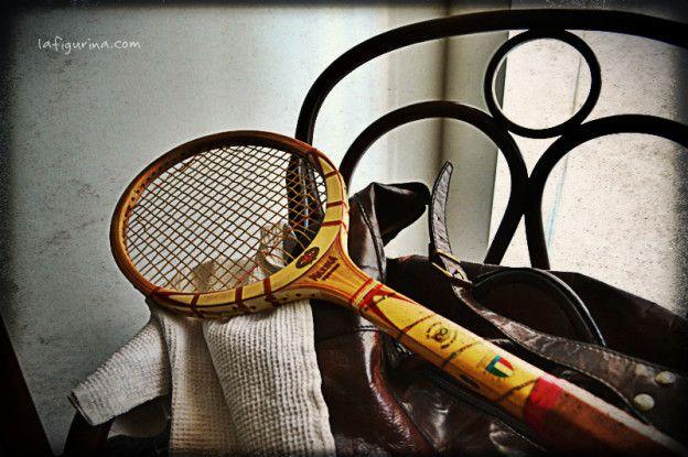 Racchetta da tennis vintage