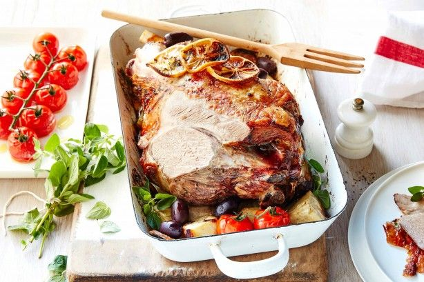 Lemon and oregano are a match made in heaven when it comes to your classic lamb roast.
