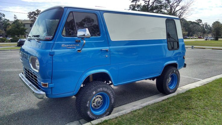 '67 Ford E Series 4x4 Van | eBay
