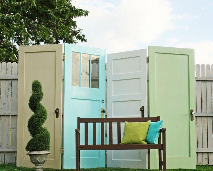Die besten 25+ Trennwand garten Ideen auf Pinterest Deck - sichtschutz f r badezimmerfenster