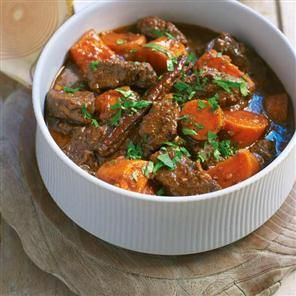 Beef and sweet potato curry