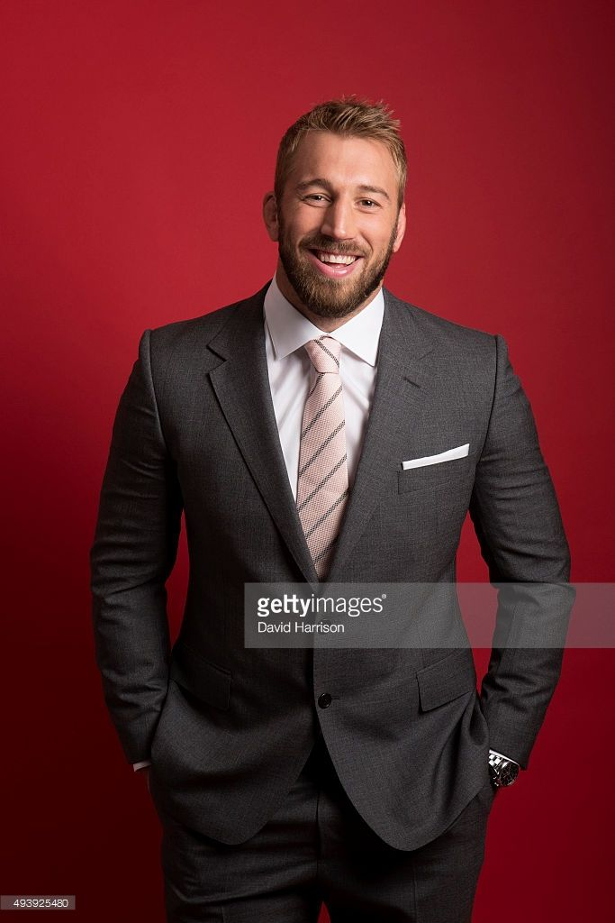 Rugby union player <a gi-track='captionPersonalityLinkClicked' href=/galleries/search?phrase=Chris+Robshaw&family=editorial&specificpeople=2375303 ng-click='$event.stopPropagation()'>Chris Robshaw</a> is photographed for Square Mile magazine on May 14, 2015 in London, England.