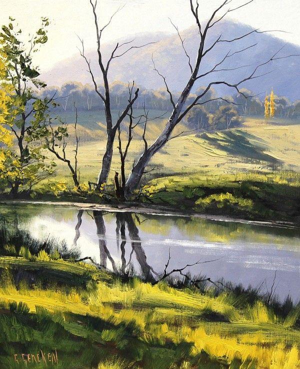 famous acrylic landscape paintings. graham gercken famous acrylic landscape paintings