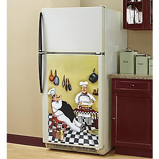 Lazy Chefs Magnetic Refrigerator Cover From Seventh Avenue