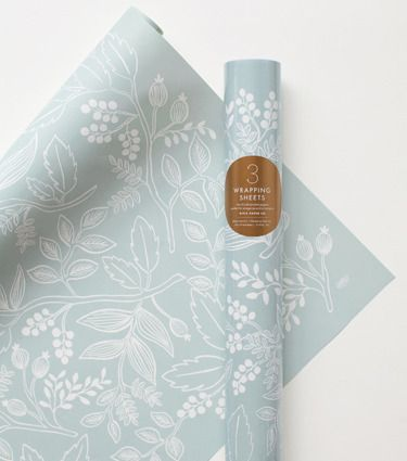 spearmint blossoms wrapping sheets.
