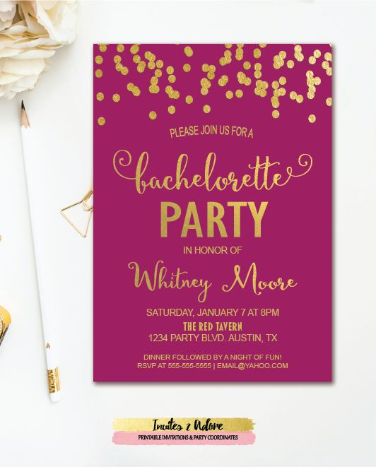 22 best BACHELORETTE INVITATIONS images – Invitations for Parties