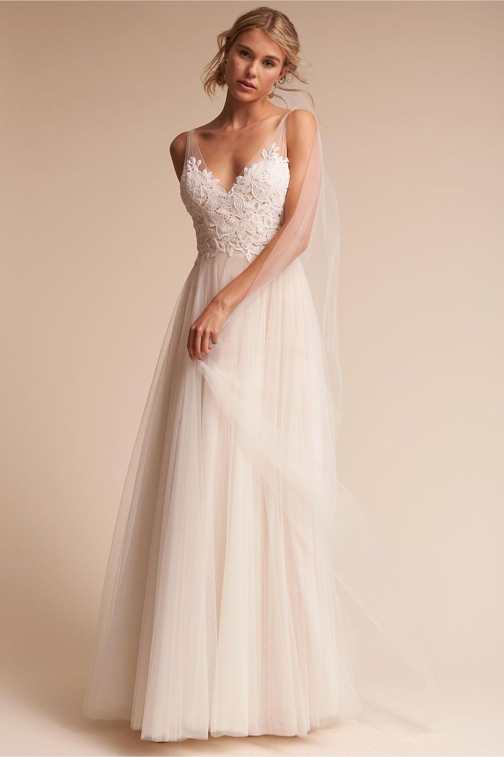 BHLDN Heritage Gown in  Bride Wedding Dresses Gowns Under $1000 | BHLDN