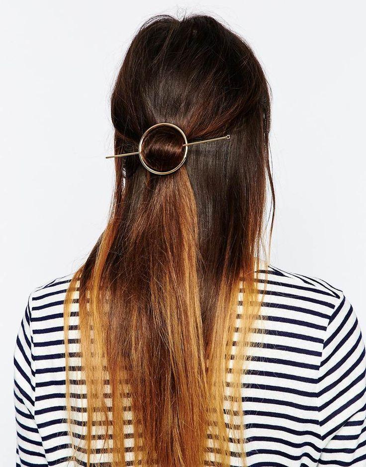 Image 1 ofASOS Open Circle Hair Stick
