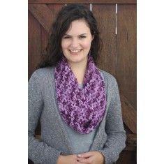 Motley chunky infinity scarf