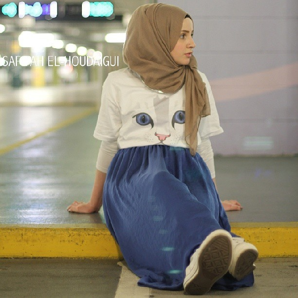 Hijab fashion --> Safiyah is soooo purrtttyyyy