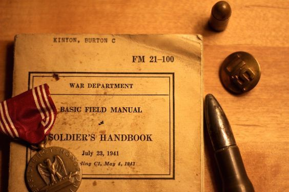Life Lessons from a 1940s Army Training Manual
