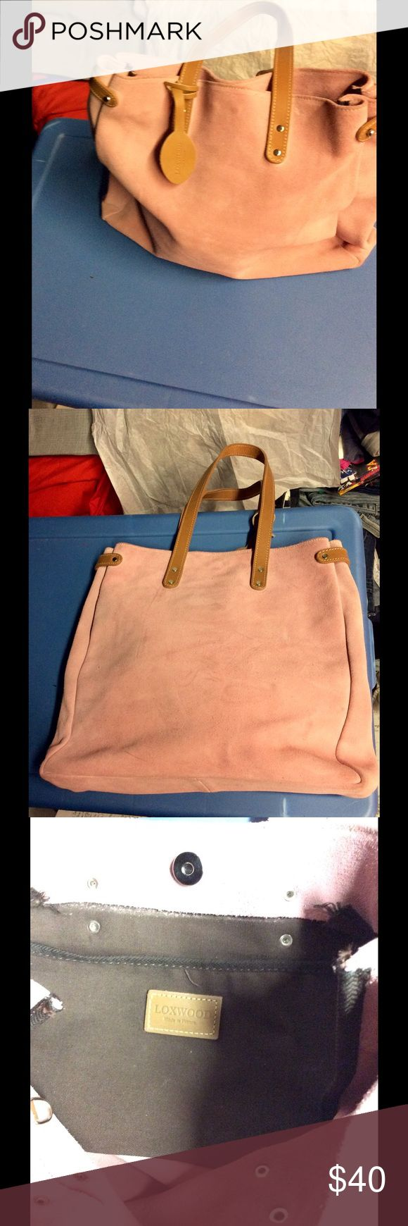 Loxwood Suede Bag Beautiful Suede bag.normal wear Loxwood Bags Shoulder Bags