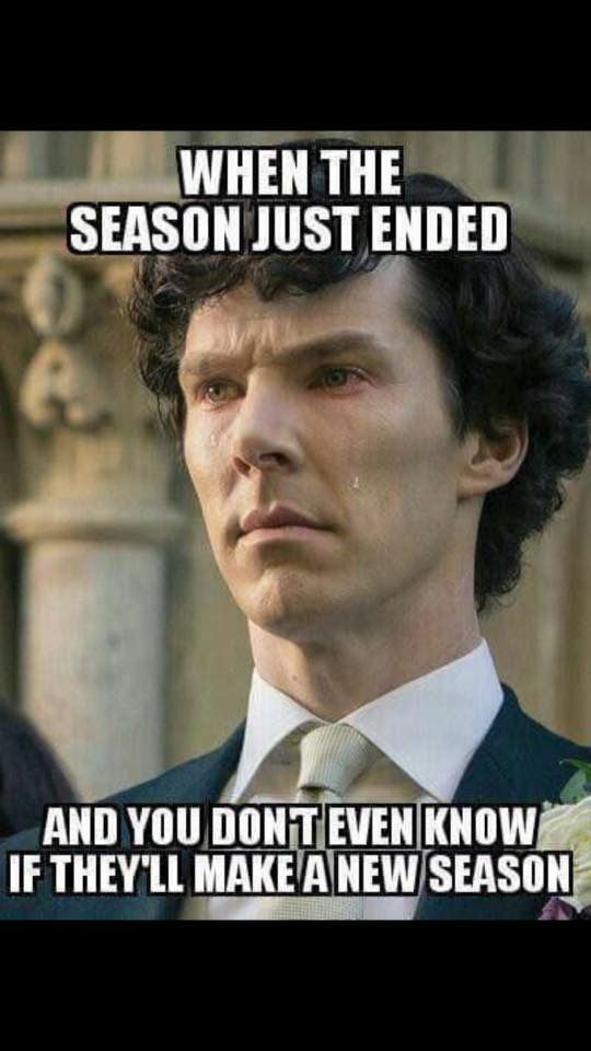 YESSSS I'm so scared their not gonna make another season help me fellow Sherlockinas!