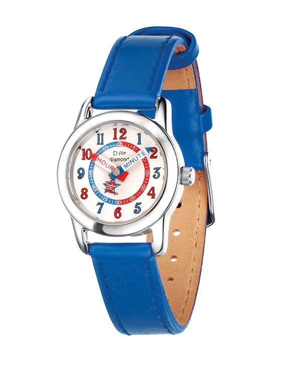 D for Diamond Child's Blue Watch