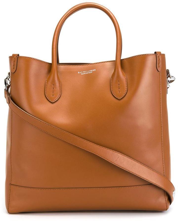 Ralph Lauren classic shopper tote
