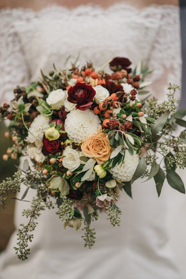 Rustic Fall Wedding at The Farm at Pond Lily by Cathy's Elegant Events - WeddingLovely Blog