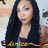 Crochet Braiding Hair Cheap Hair Extensions Crochet Senegalese Twists Crochet Hair Extension Havana Mambo Twist Afro Beauty Hair