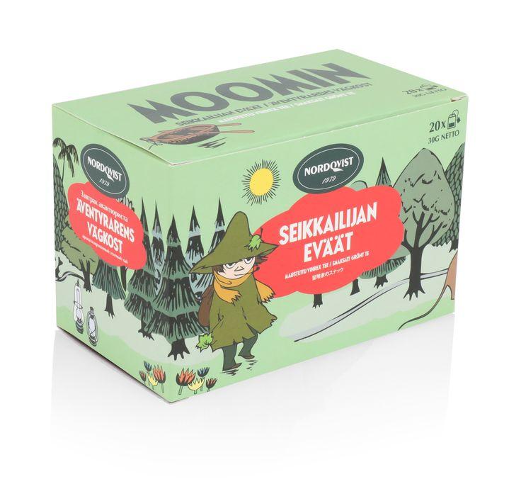 NEW Nordqvist Moomin Adventurer's Snacks tea box.