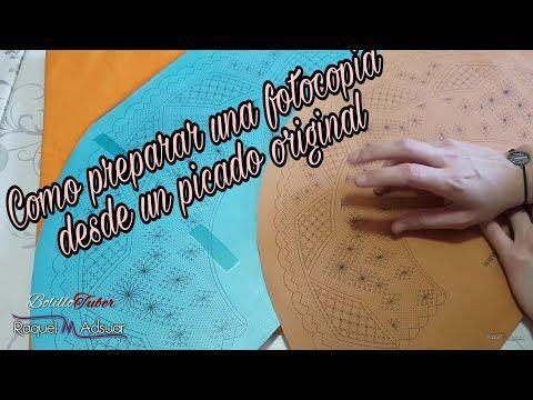 Rombos de encaje de bolillos originales - Raquel M. Adsuar Bolillotuber - YouTube