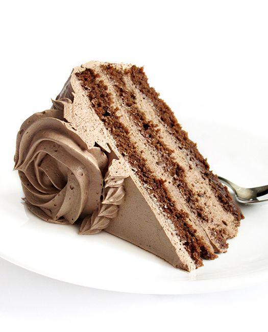 Chocolate banana cappuccino cake recipe from @tinascookings