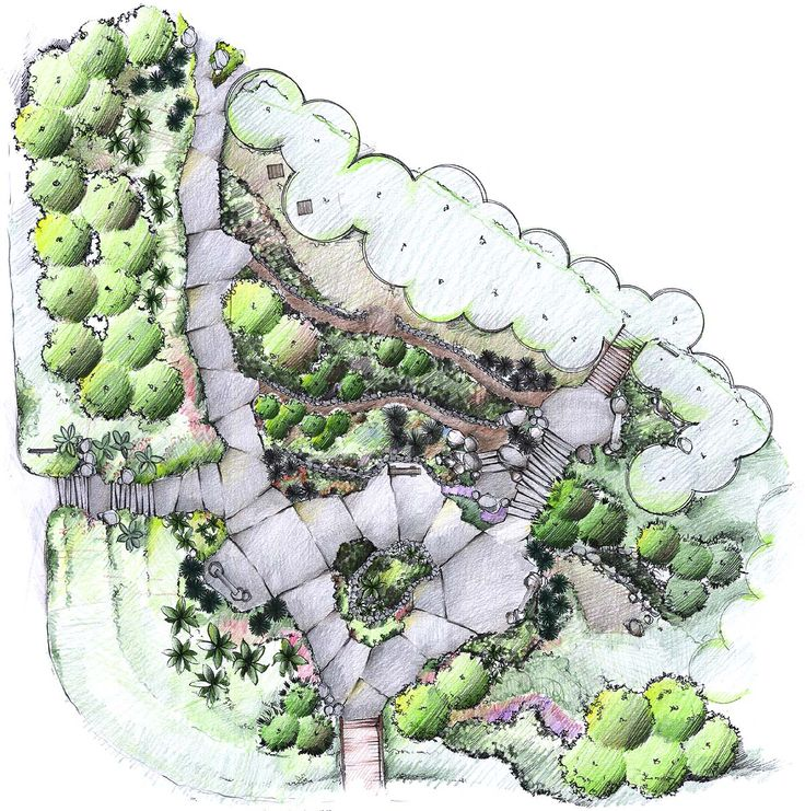 Landscape Architecture Plan Landscaping For A Beautiful Backyard By Carmel Baird