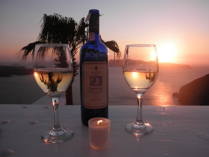 Gavalas Wine, from the Greek island of Santorini!  :)
