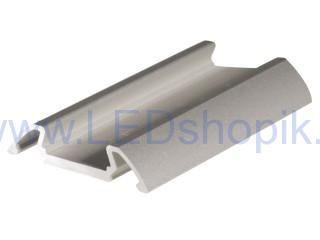 Al profil pro LED pásky KLUS STOS-ALU anod 1m