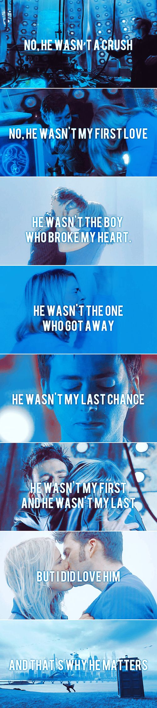 The Doctor + Rose Tyler #doctorwho