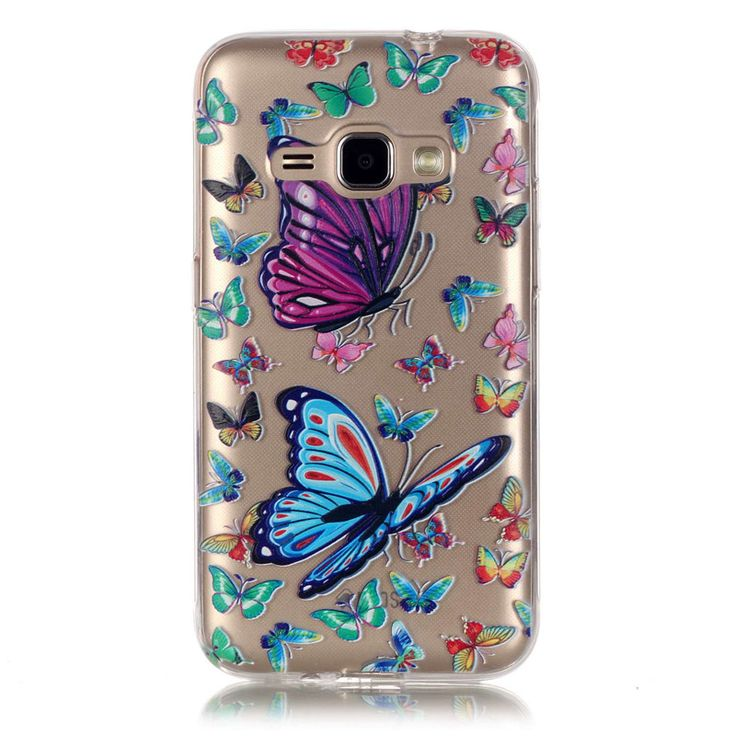 >> Click to Buy << Butterfly Flower Case For Samsung Galxy J1 2016 Cute Cartoon TPU Clear Transparent Slim Relief Soft Back Cover J120 J120F Case #Affiliate