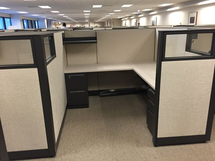 modular workstations office cubes on pinterest office designs