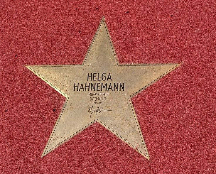 Helga Hahnemann - Boulevard der Stars