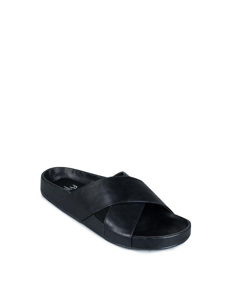 Criss Cross Sandal - Nly Shoes - Zwart - Casual Schoenen - Schoenen - Vrouw  -