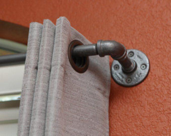 17 Best ideas about Industrial Curtain Rod on Pinterest | Plumbing ...