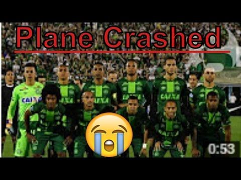 Colombia Chapecoense football team Plane crashed acidente before arrivin...