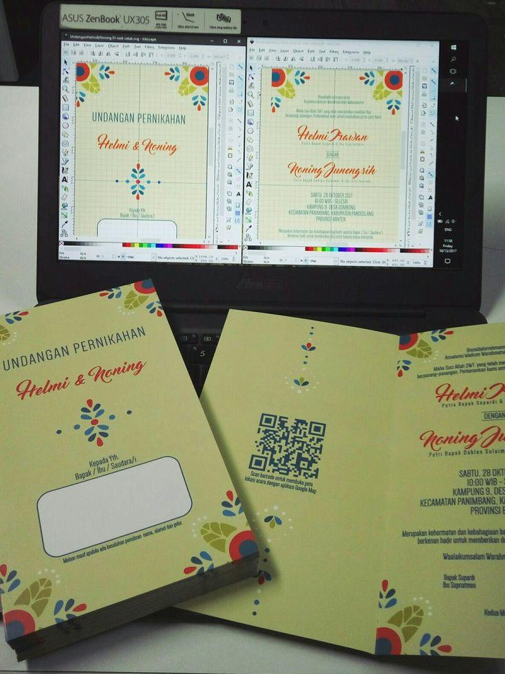 Wedding invitation design and digital printing