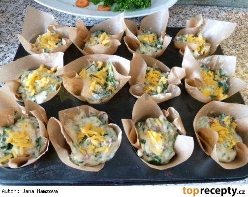 Velikonoční muffiny na slano