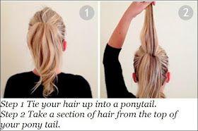 easy braided hair bun tutorial