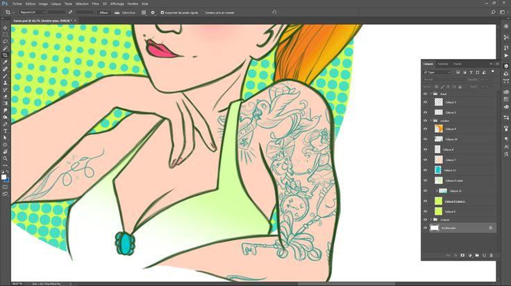 [ Avatar ] Aujourd'hui, commande d'avatar avec copie de tattoos. Et il y a du monde sur le bras à reproduire 😜 !