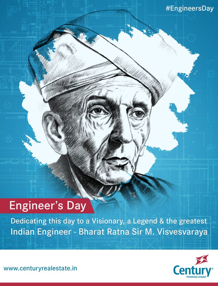 #EngineersDay: Dedicating this day to a Visionary, a Legend & the greatest #Indian #Engineer Bharat Ratna Sir M. Visvesvaraya, who spearheaded development, & was instrumental in the founding of the Government Engineering College, #Bangalore – one of the FIRST #engineering institutes of #India! #IndianEngineer #Engineers #SoftwareEngineer #Mysore #Karnataka #BharatRatna #SirVisvesvaraya #SirMV #EngineersDay2017 #CenturyRealEstate #RealEstateBangalore #RealEstate