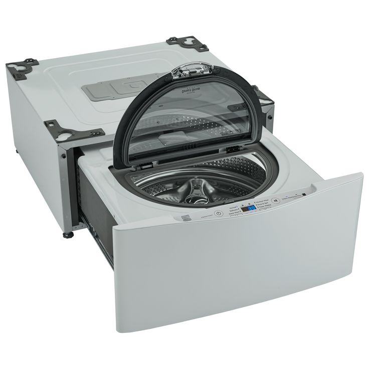 WD100CW SideKick™ Pedestal Washer, part of the LG TWIN Wash System™ – White - Sears