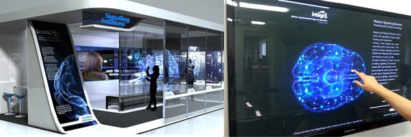 Exhibition Stand Interactive : Touch screen applications in signalling solutions