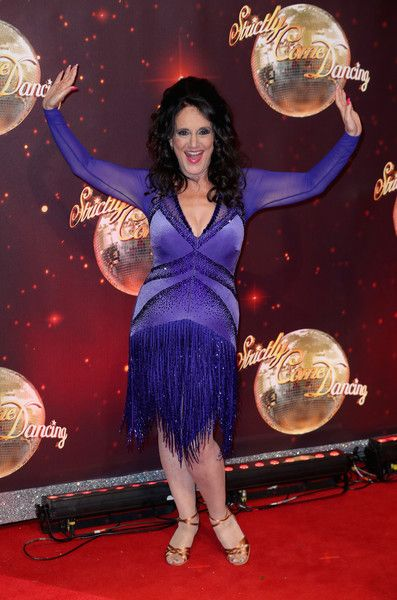 Lesley Joseph arrives for the launch of 'Strictly Come Dancing 2016' at Elstree Studios on August 30, 2016 in Borehamwood, England.