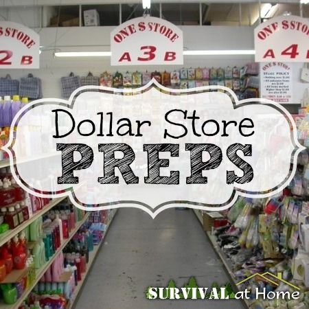 Dollar Store Preps (via Survival at Home)