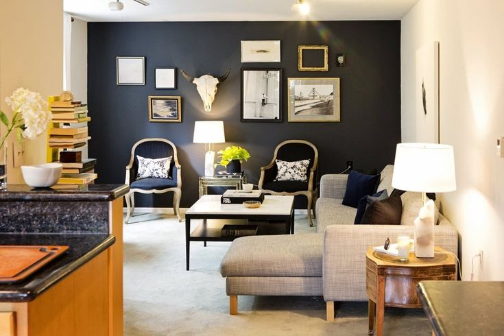 Bianca & Craig's Moody Glam Apartment House Tour   Apartment Therapy