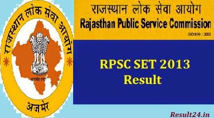 Candidates appeared in Rajasthan SET 2013 Exam they can check their RPSC SET 2013 Exam Result, Check Rajasthan SET 2013 Certificate Status at here.