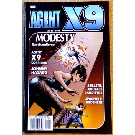 Agent X9: 2006 - Nr. 13 - Slavehandlerne